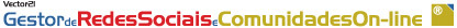 Logo Gestor de Redes Sociais e Comunidades on-line