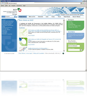 Cartao IGCP